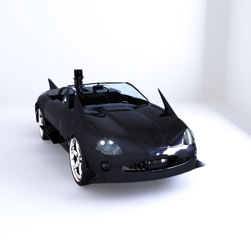 obj sci-fi car