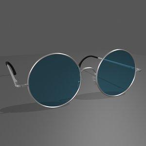 glasses eyeglasses 3d model