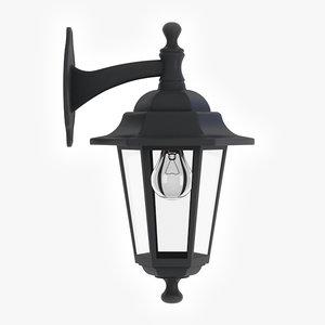 3d porch lamp