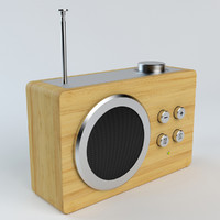 3d model lexon mini dolmen radio