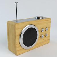 Lexon Mini Dolmen Radio
