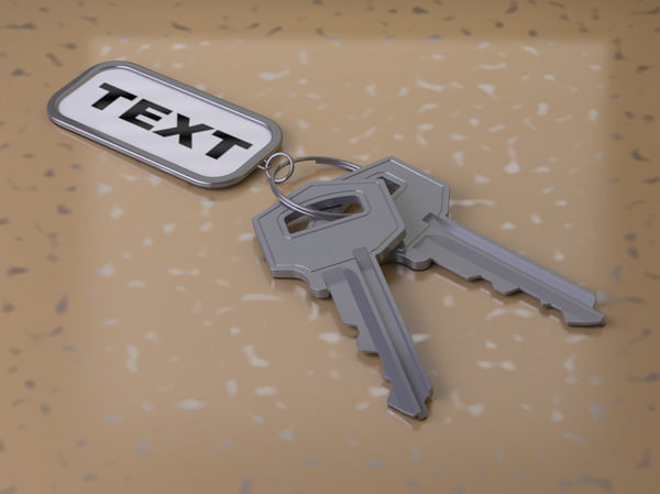 fbx key modelled