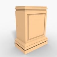Plinth Block 002