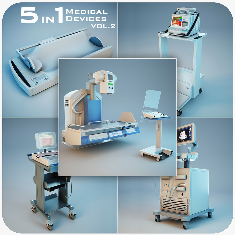 medical devices 5 1 3d model