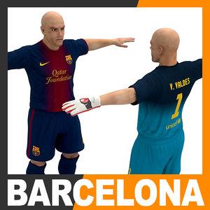 football player - fc c4d
