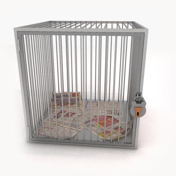 3d max cage human