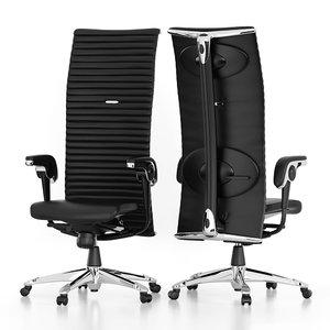 3d max hag office chair