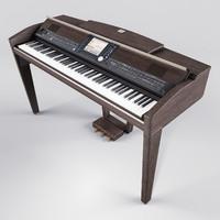 3d piano yamaha clavinova cpv-509
