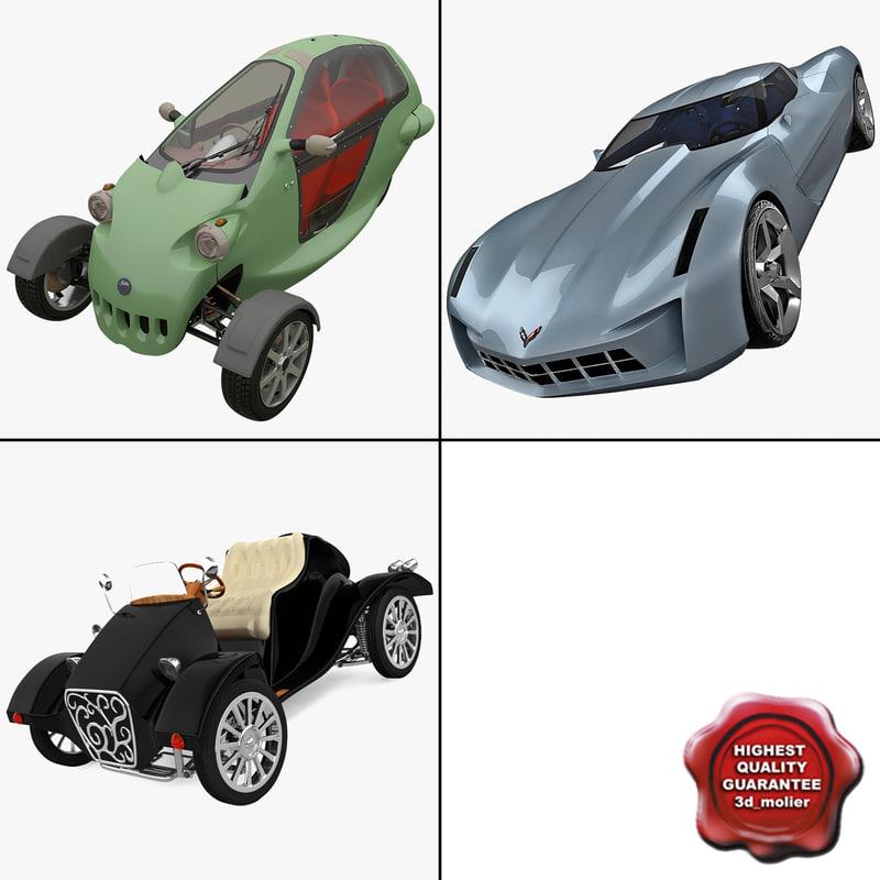 concept cars 3 3d 3ds