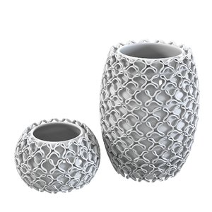 vase contemporary 3d model