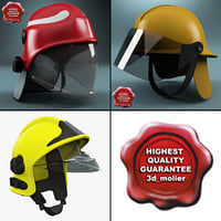 firefighter helmets c4d