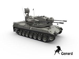 3d model tank