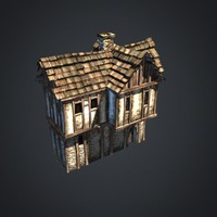 3d max medieval house