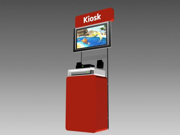 3d kiosk gaming