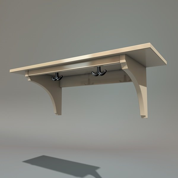 c4d kitchen shelf