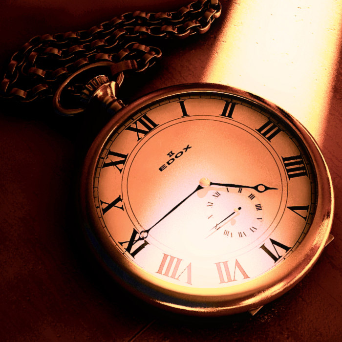 3d old watch chain model