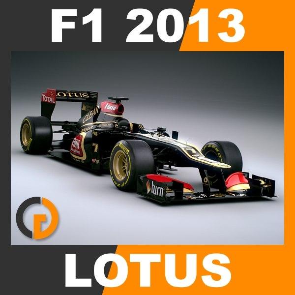 3d formula 1 2013 e21 model