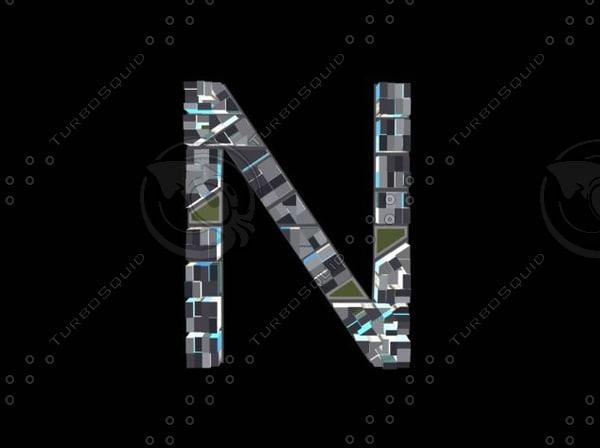 3d model town n