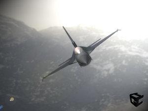 3ds f-16