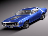max muscle antique 1971 sport