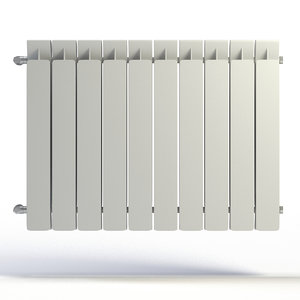 radiator 3d max