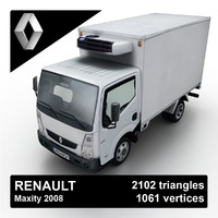 2008 renault maxity 3d max