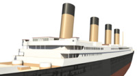 RMS Titanic Basic Hull