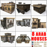 8 Arab Houses Collection