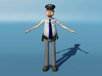 Toon Police Man