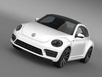 beetle rline 2014 3d max