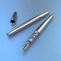 item pen 3d model