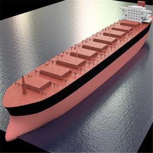 3d model ship bulker
