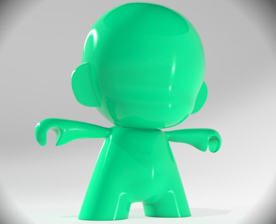 3d toy munny
