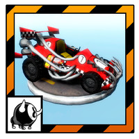 3ds max unity toon car racing