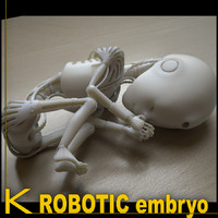 3d robotic embryo