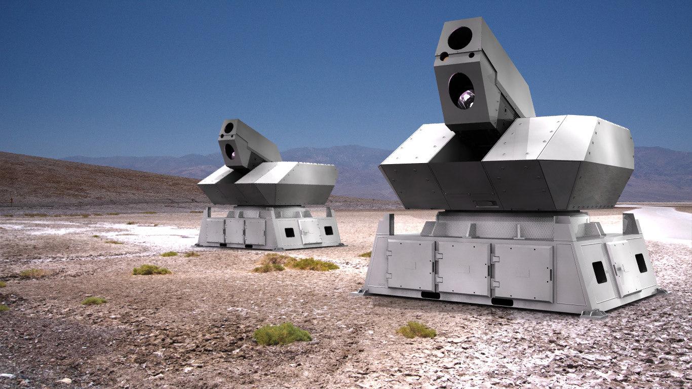 3d model rheinmetall laser skyshield