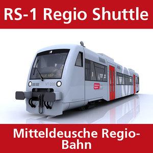 3d rs-1 regio shuttle passenger train