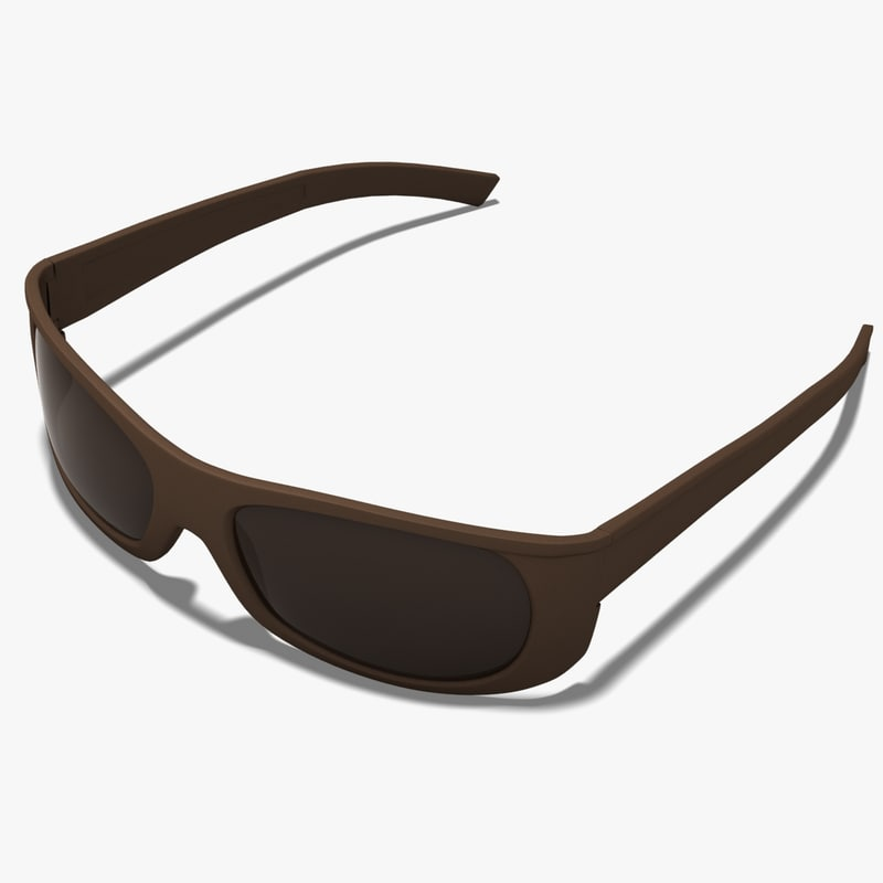 glasses sunglasses 3d dxf