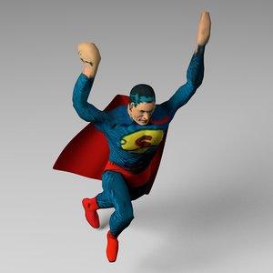 3d superman super