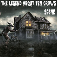 3d crow scene model