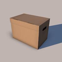 cardboard box 3ds free