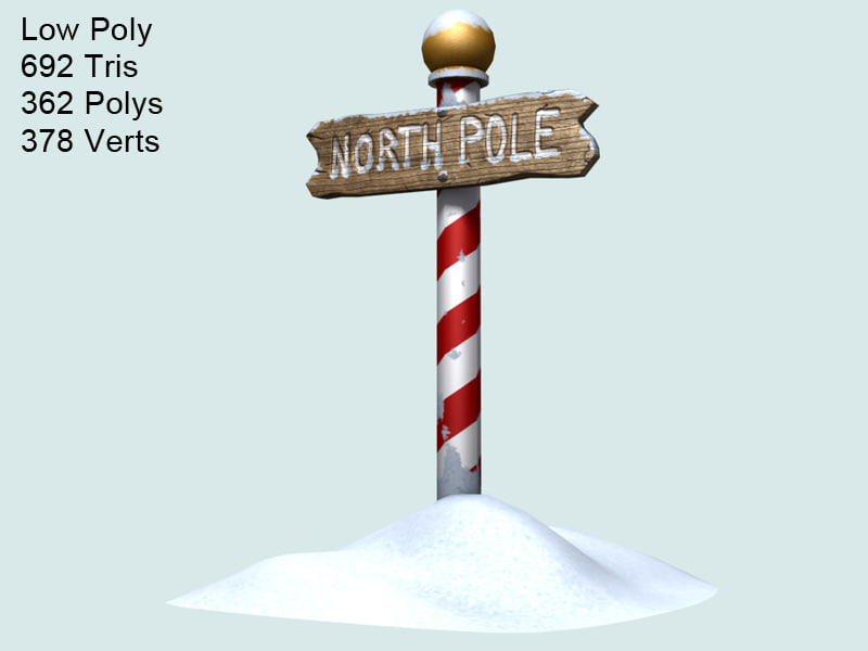 north pole max