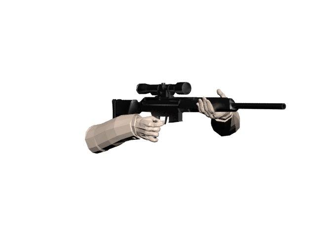 sniper rifle x