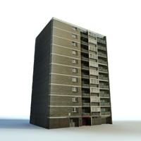 urban building c4d