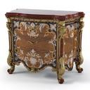 Armando Rho A 915 Classic Baroque Bedroom nightstand