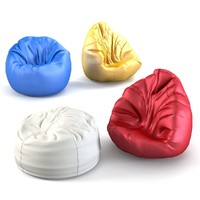 3d bean bag set model