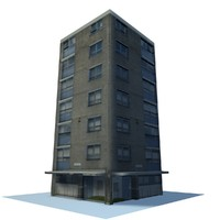 3d english urban building