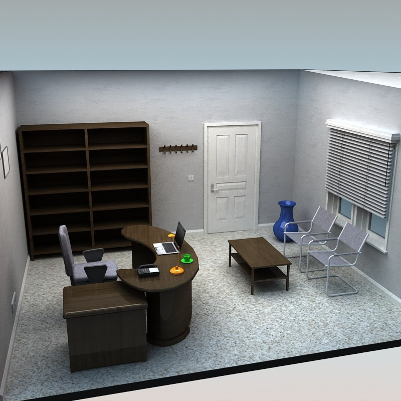 3ds office room