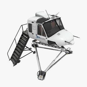 3ds max bell 412 simulator