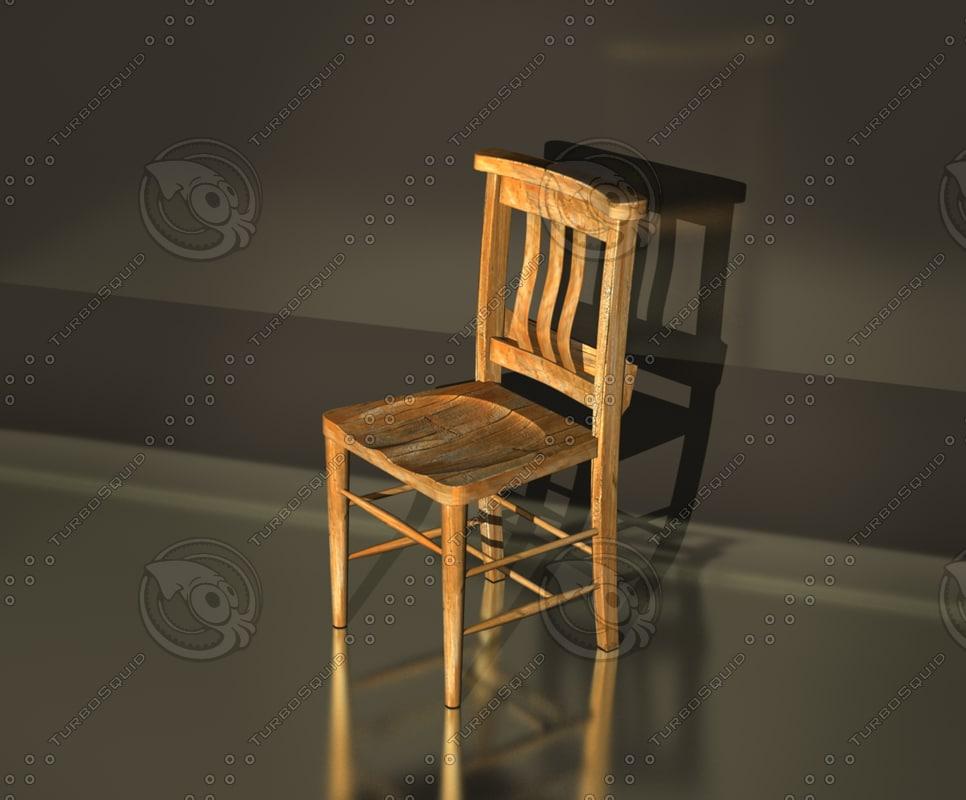 free max mode old church chair